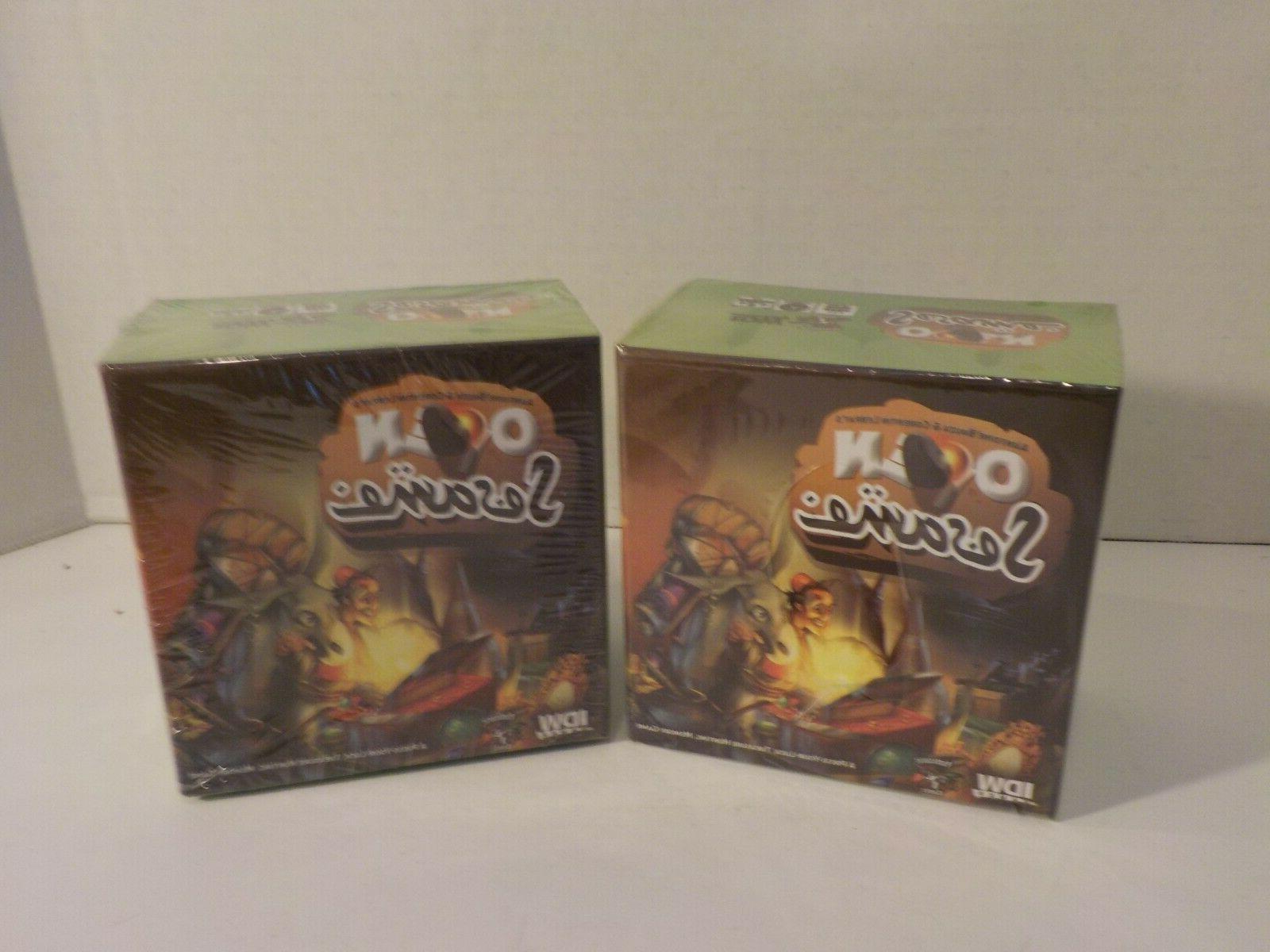 N Open Aladdin Arabian Nights Games Board New