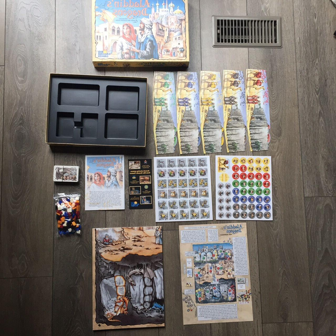 NEW Aladdin's Board Game by Grande Richard Breese