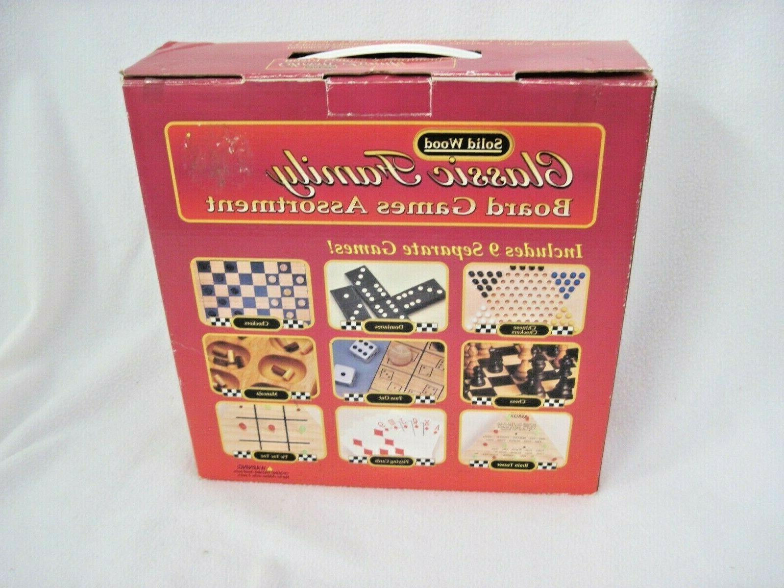GAMES SOLID WOOD CHINESE