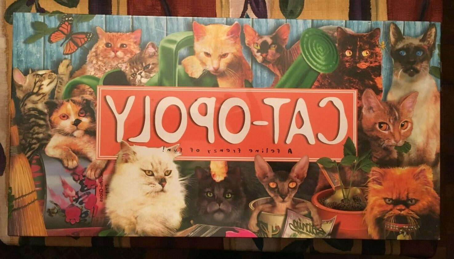 new factory sealed cat opoly catopoly monopoly