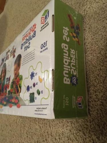 NEW Learning Resources Gears! Gears! Super Building Set, 150 Pieces