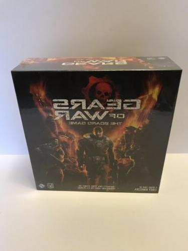 new sealed gears of war the board