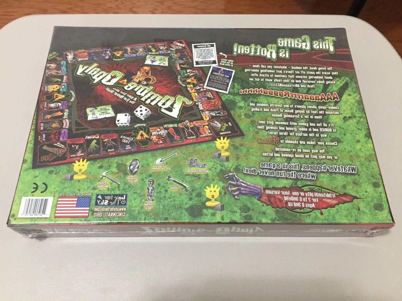 NEW Sealed ~ Living Dead Board Game