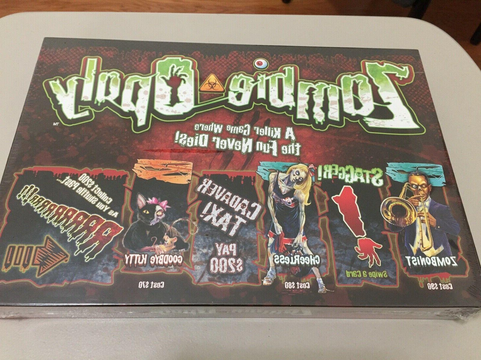 new sealed zombie opoly monopoly style living