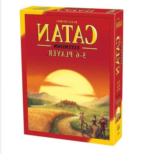 New of Catan Board 5th Edition 5-6 Players Extension Party Game