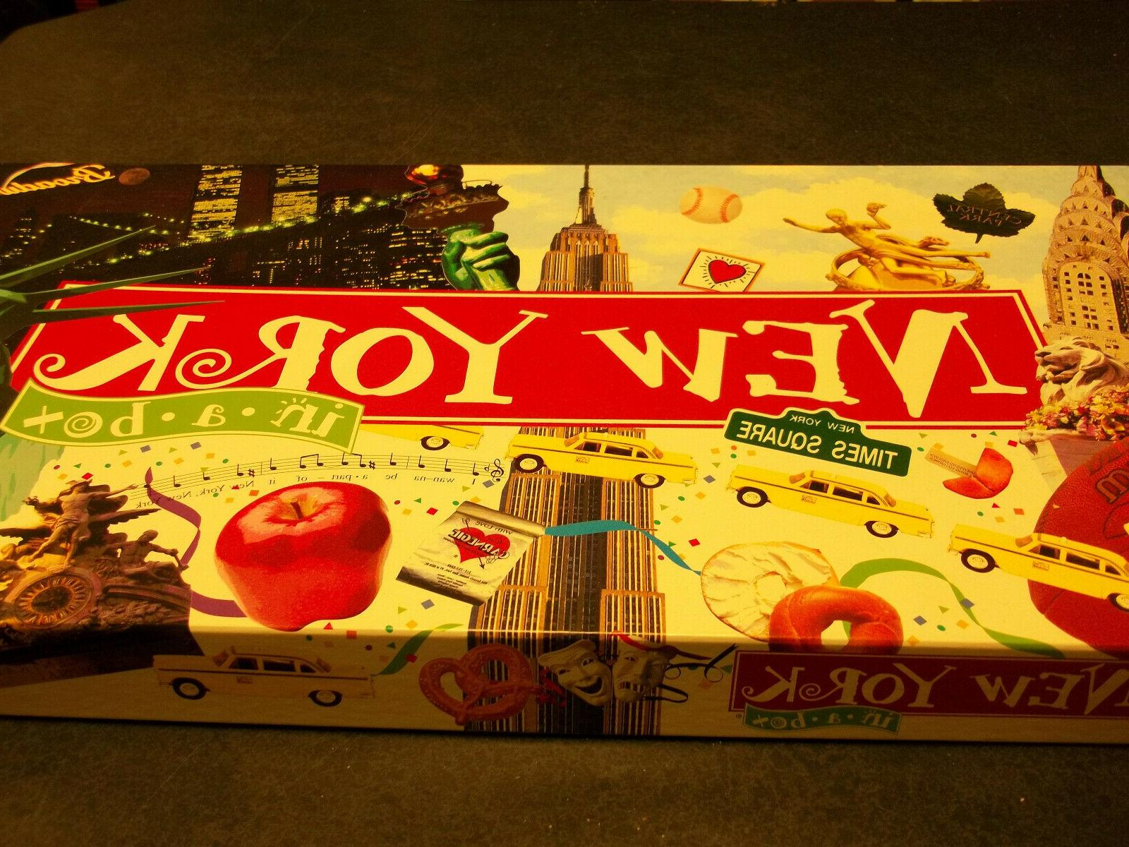 new york in a box monopoly board