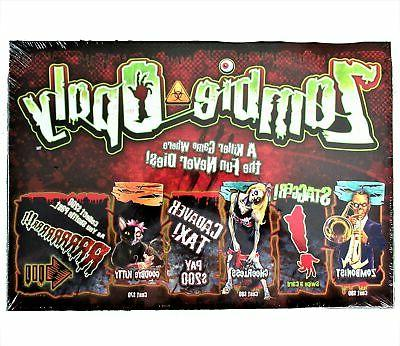 NEW Late Sky Zombie-opoly Game - Zombie 2-6
