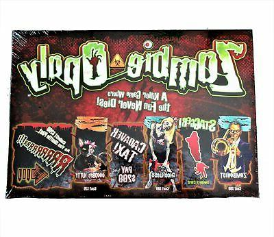 new zombie opoly board game zombie survival