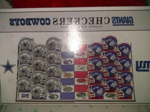 nfl checkers classic rivals edition giants vs