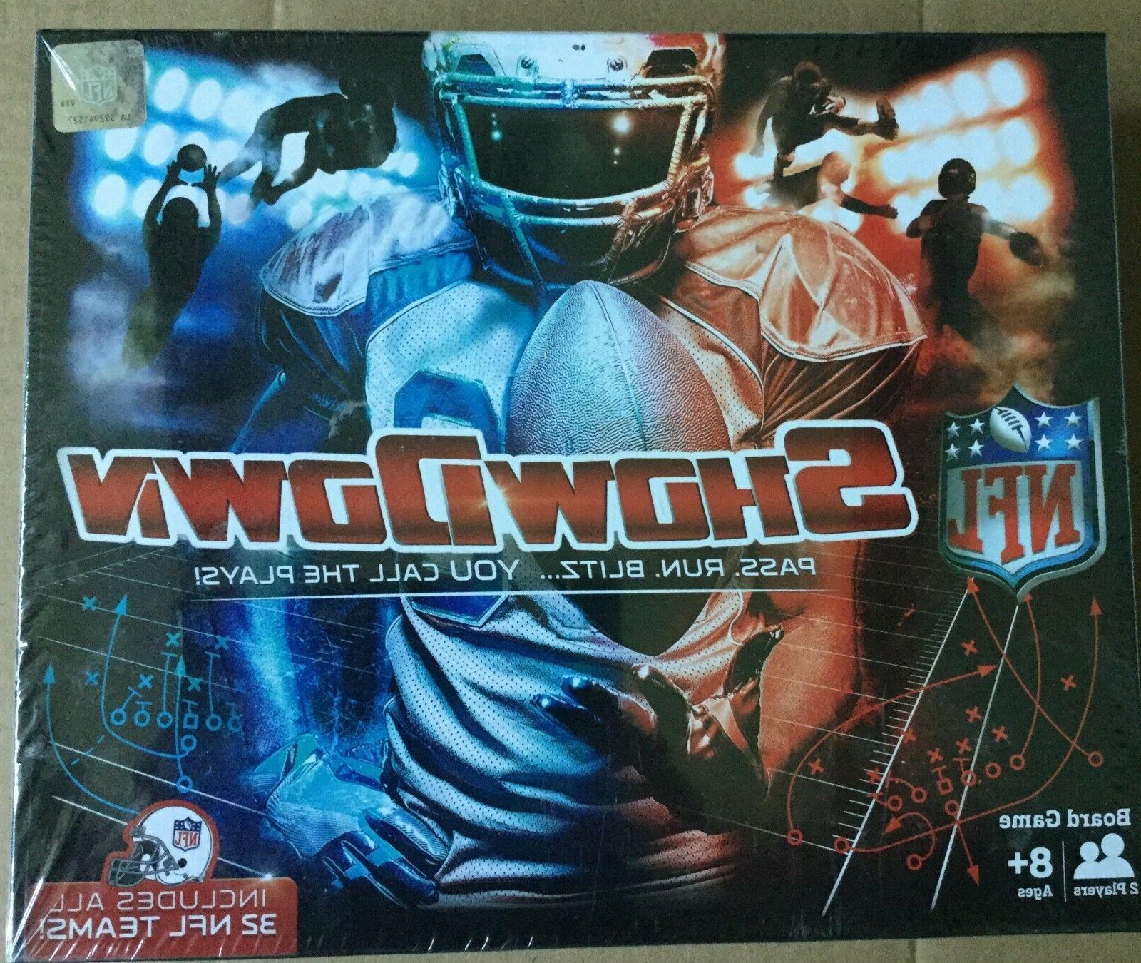 nfl showdown board game new