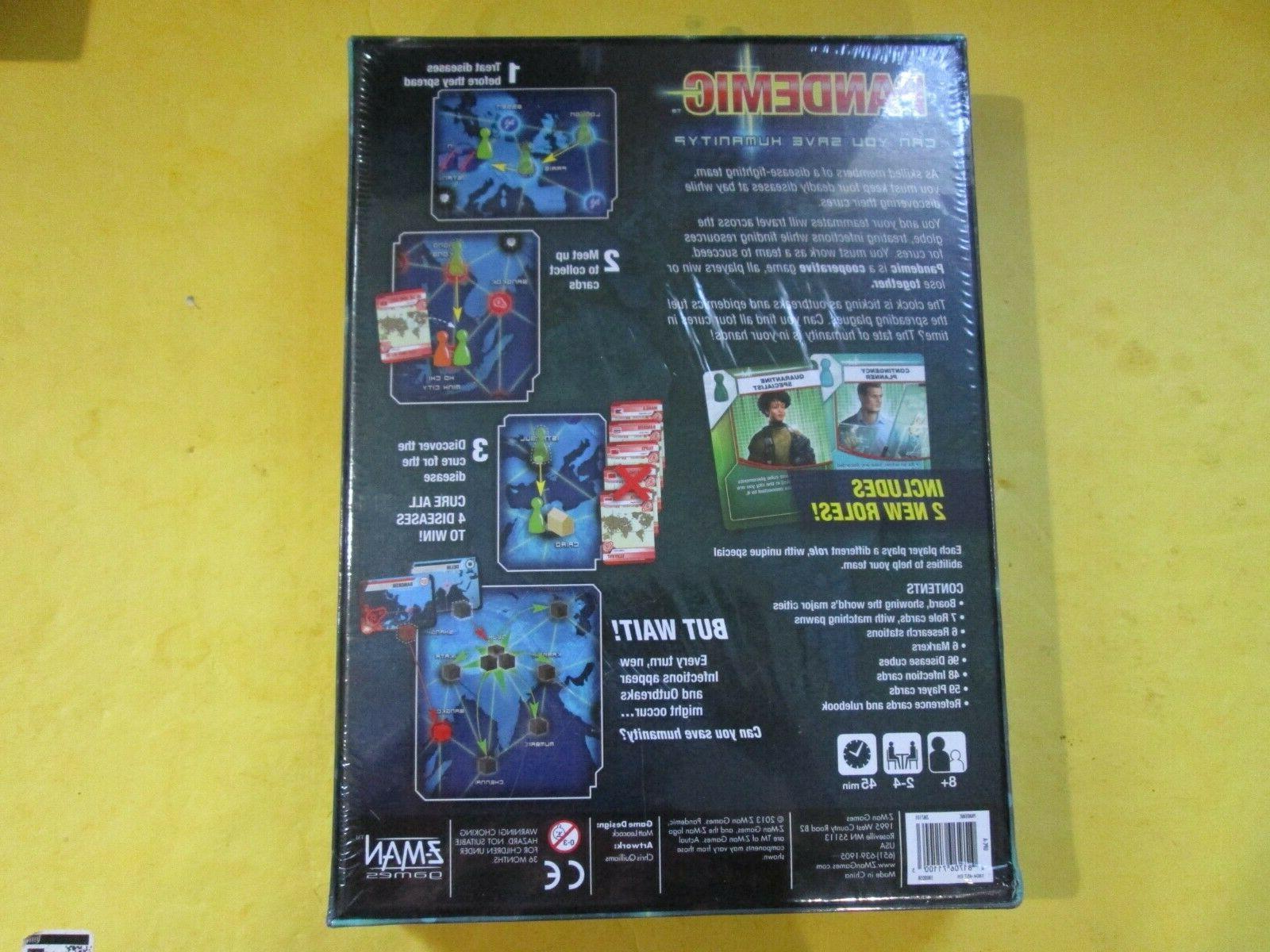 Pandemic Z-Man Games Brand