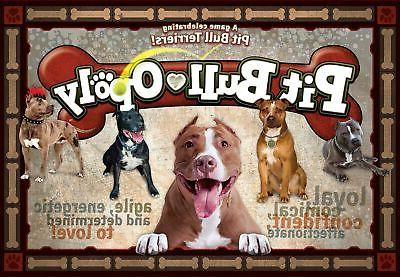 pitb pit bull opoly board games