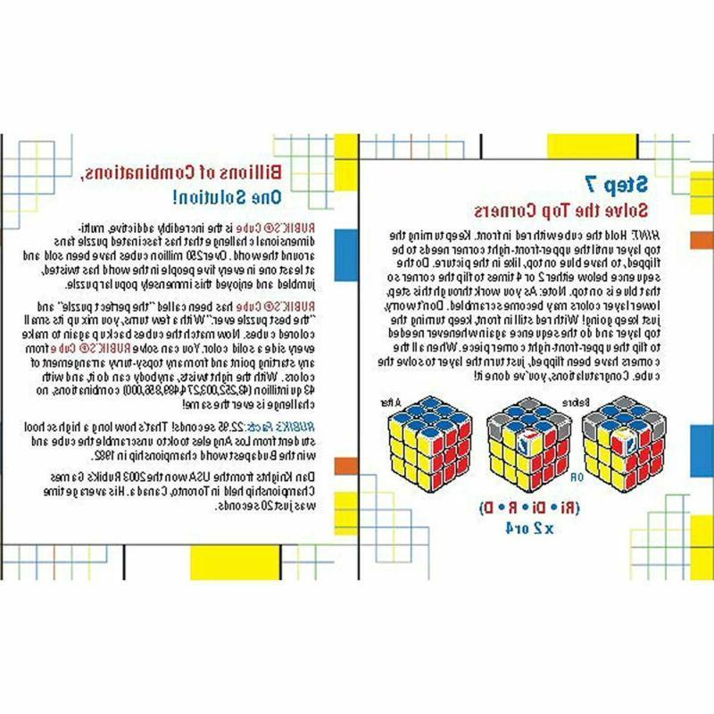 Base 3X3 Rubix Box Kids Toy