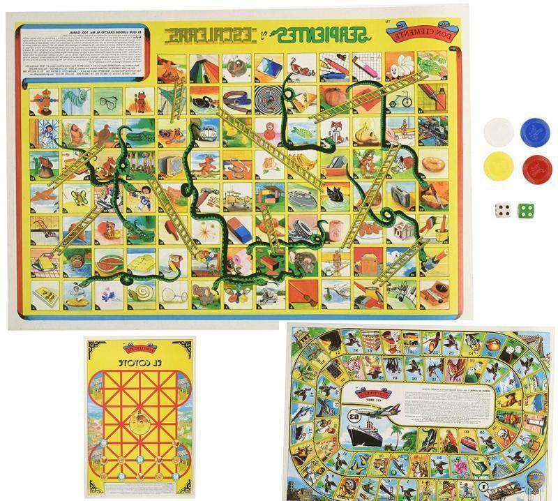 serpientes y escaleras 3 mexican board games