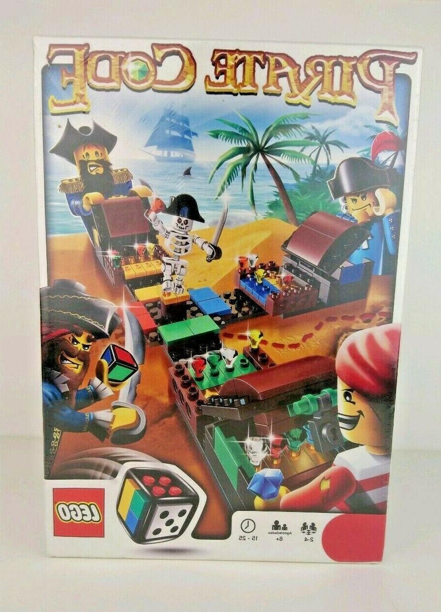 set 3840 pirate code factory sealed rare
