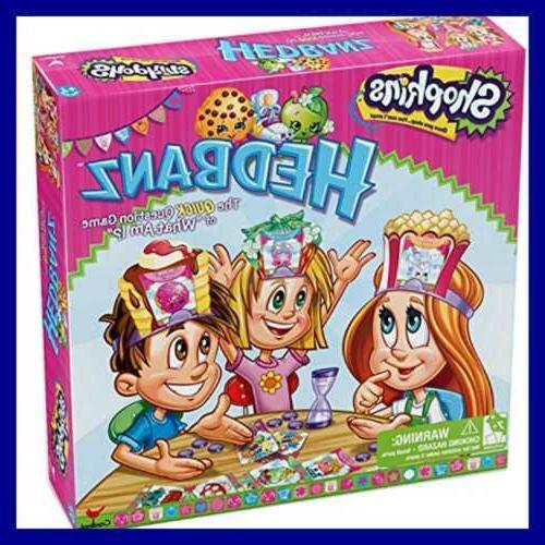 shopkins hedbanz board game free shipping assorted