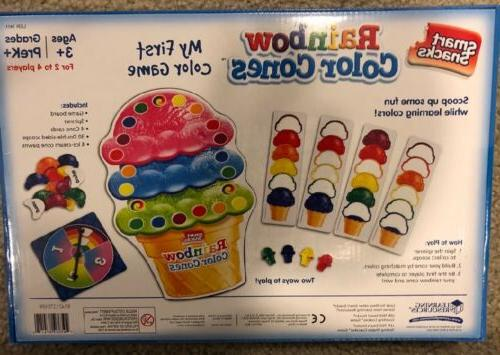 Learning Rainbow Color Cones First Color Board