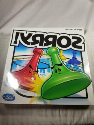 sorry game board games for family kids