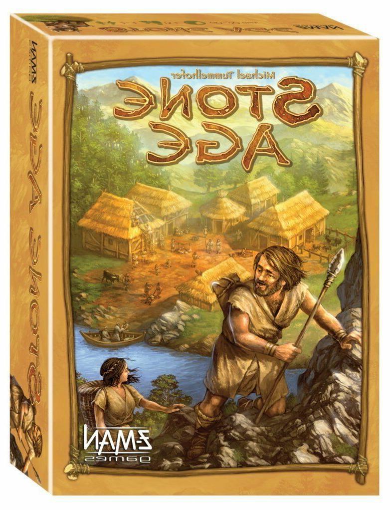Stone Age Family Strategy Core Base Board Game Z-Man Games