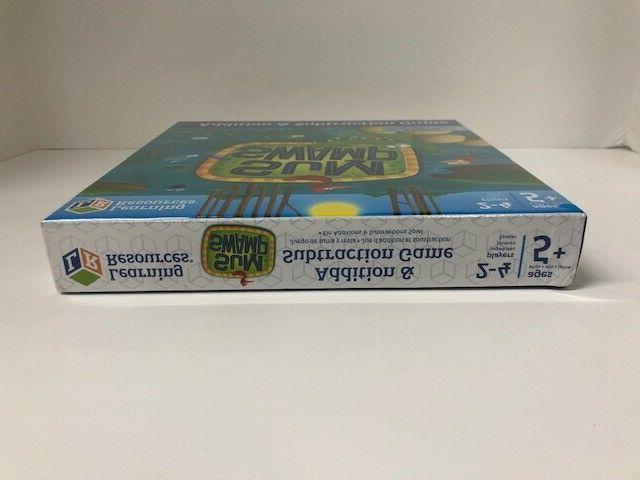 Sum Swamp - Learning Resources - Addition Subtraction Game -