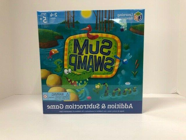 sum swamp addition and subtraction game new