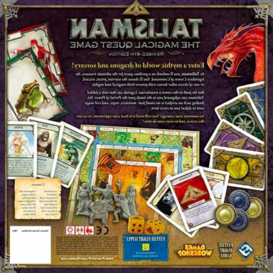 Talisman Magical Board Game 2-6 Players Games