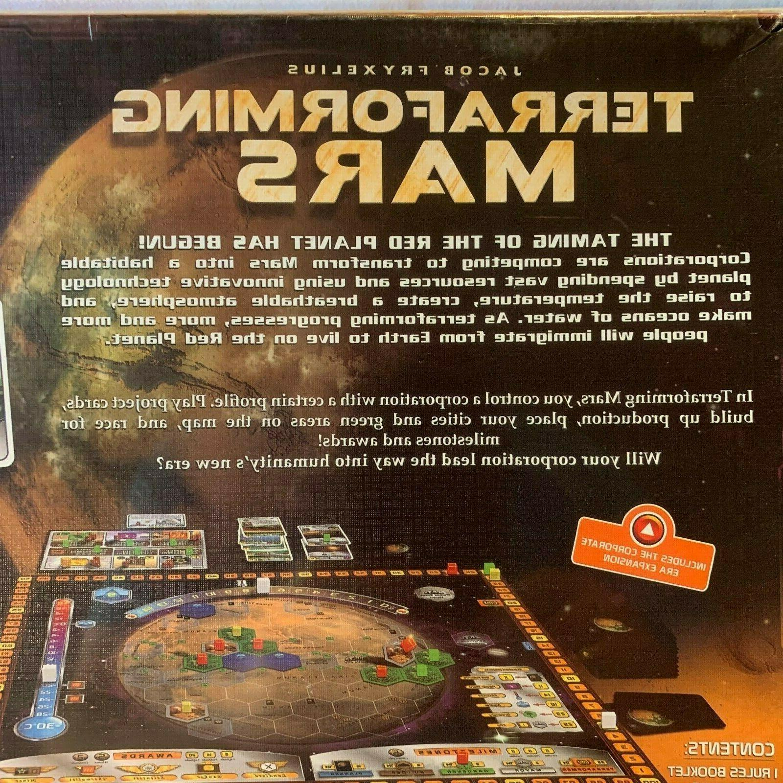 TERRAFORMING MARS Board NEW Factory Games & FREE SHIPPING