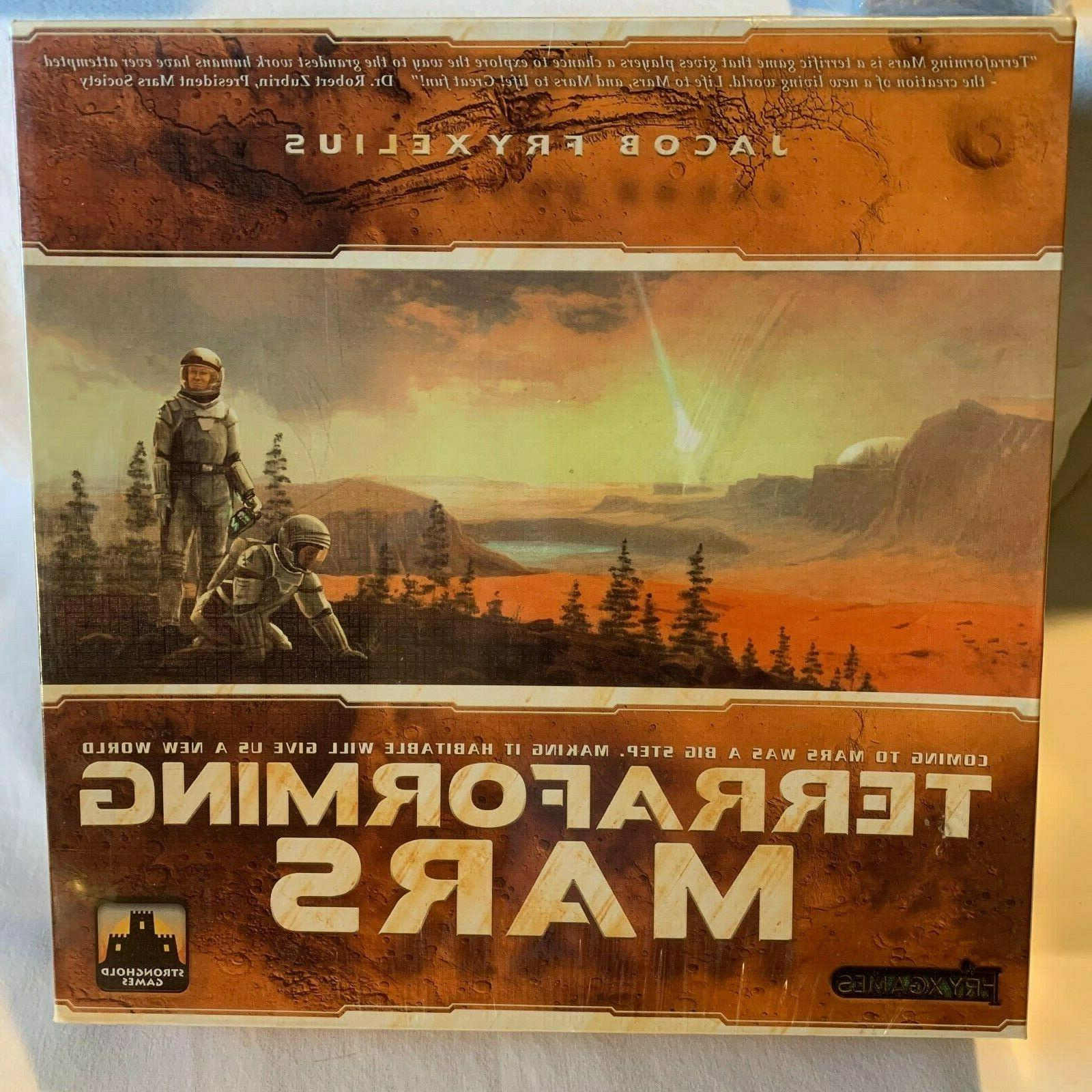 terraforming mars board game new factory sealed