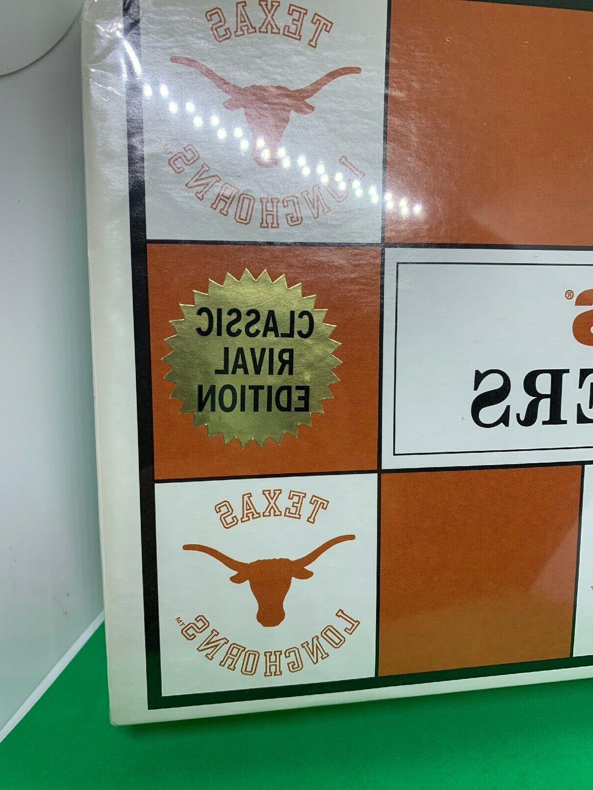 Texas Longhorns Classic Rival Edition Checkers