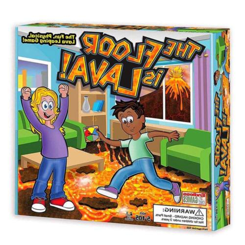 The Floor is Lava! Interactive Board Game for Kids and Adult