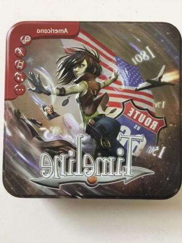 timeline americana board game collectible tin educational