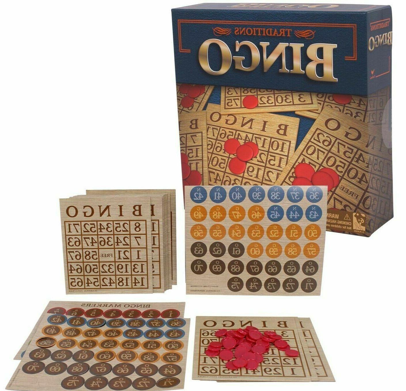 traditions bingo set multiplayer board game