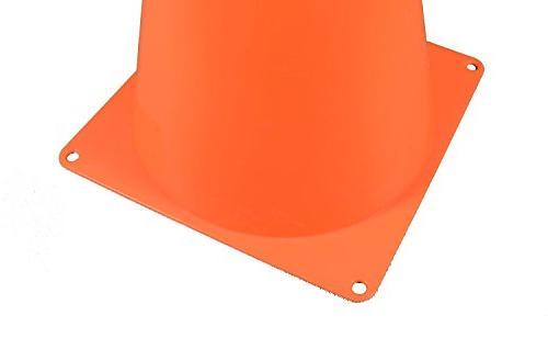 Fun Set of 12 Sport Orange Soccer Cone