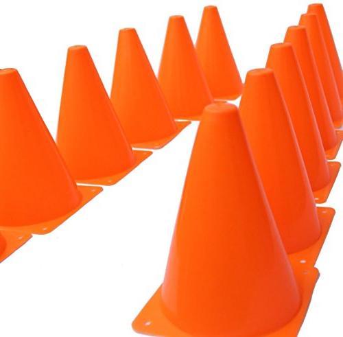 training traffic orange cones soccer