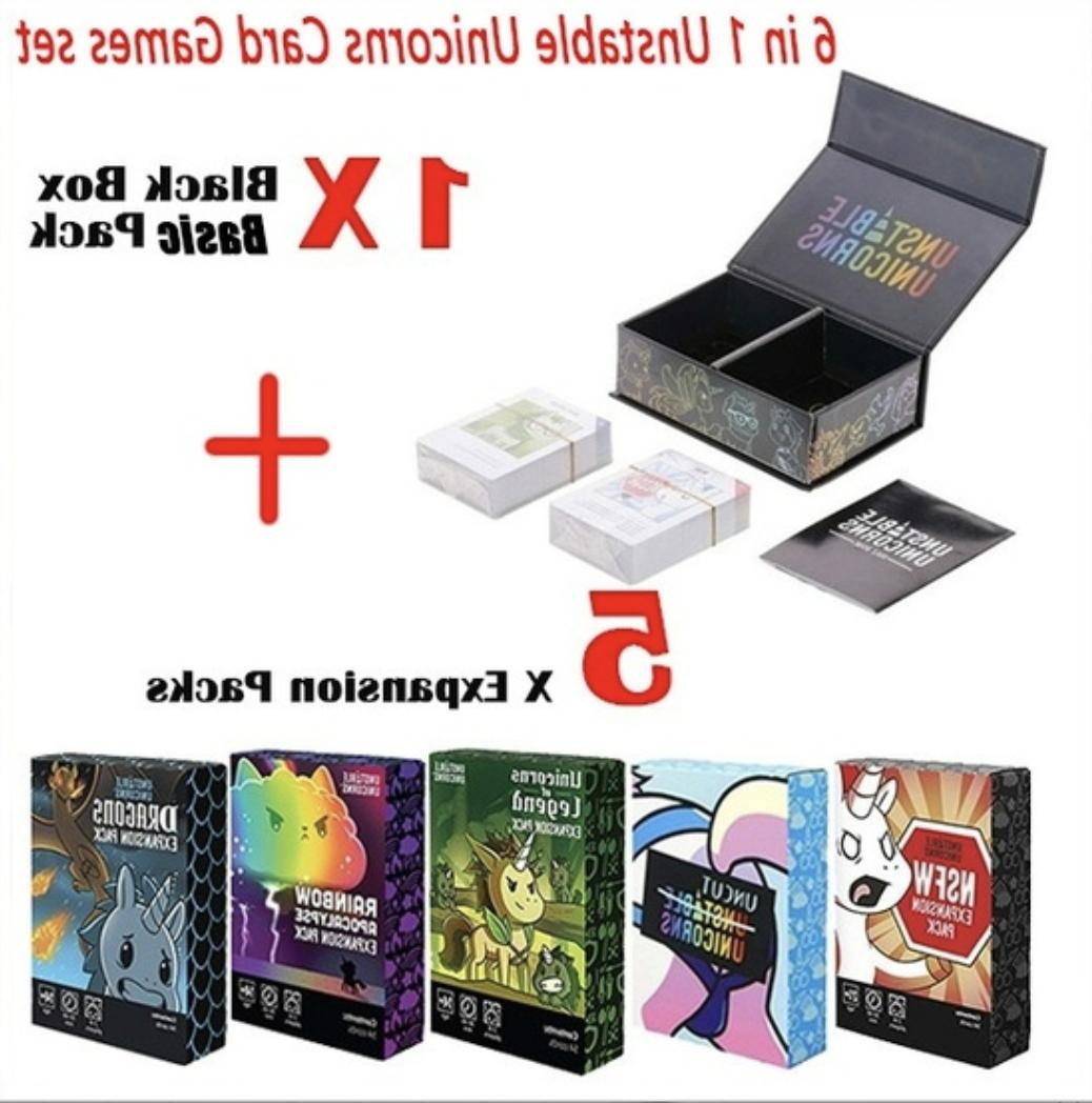unstable unicorns card games best board games