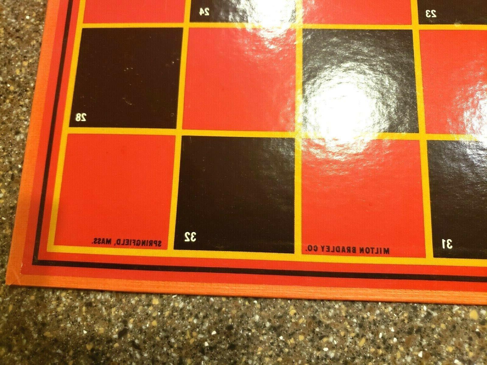 Vintage Milton Bradley Checkers Board