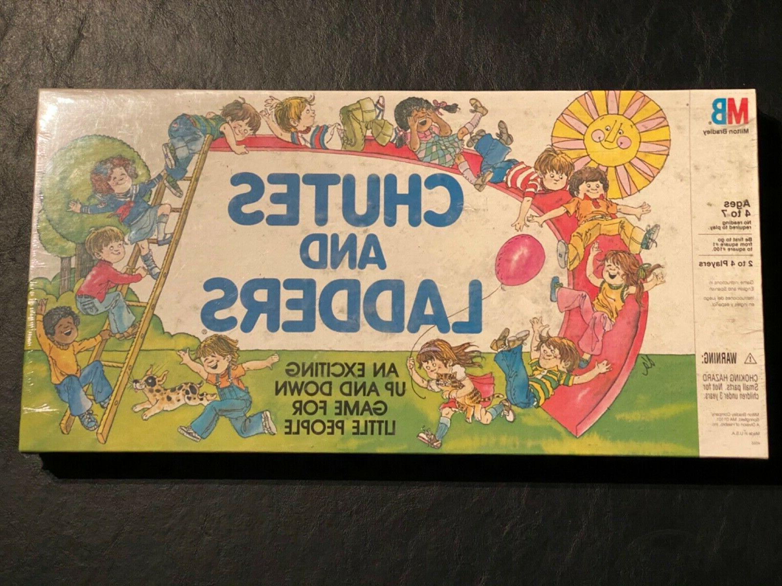 vintage chutes and ladders game by 1979
