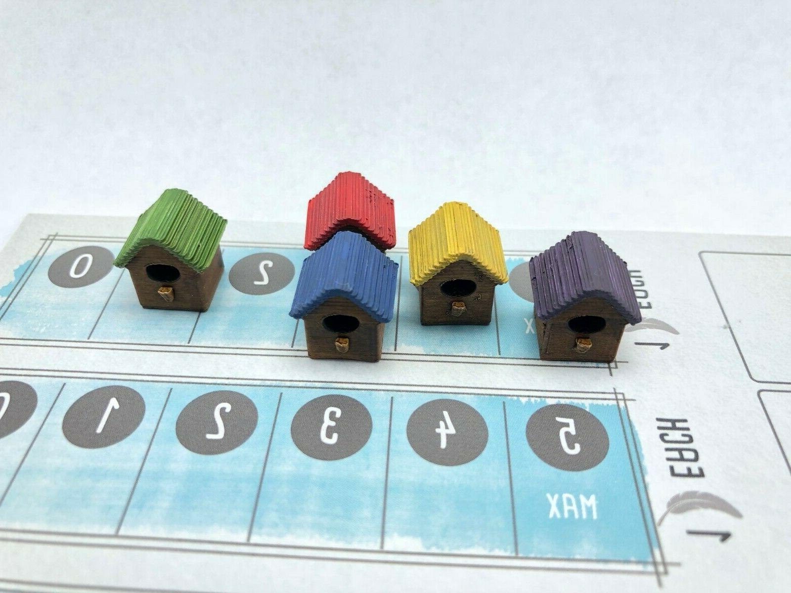Wingspan Game 3d Birdhouse Markers