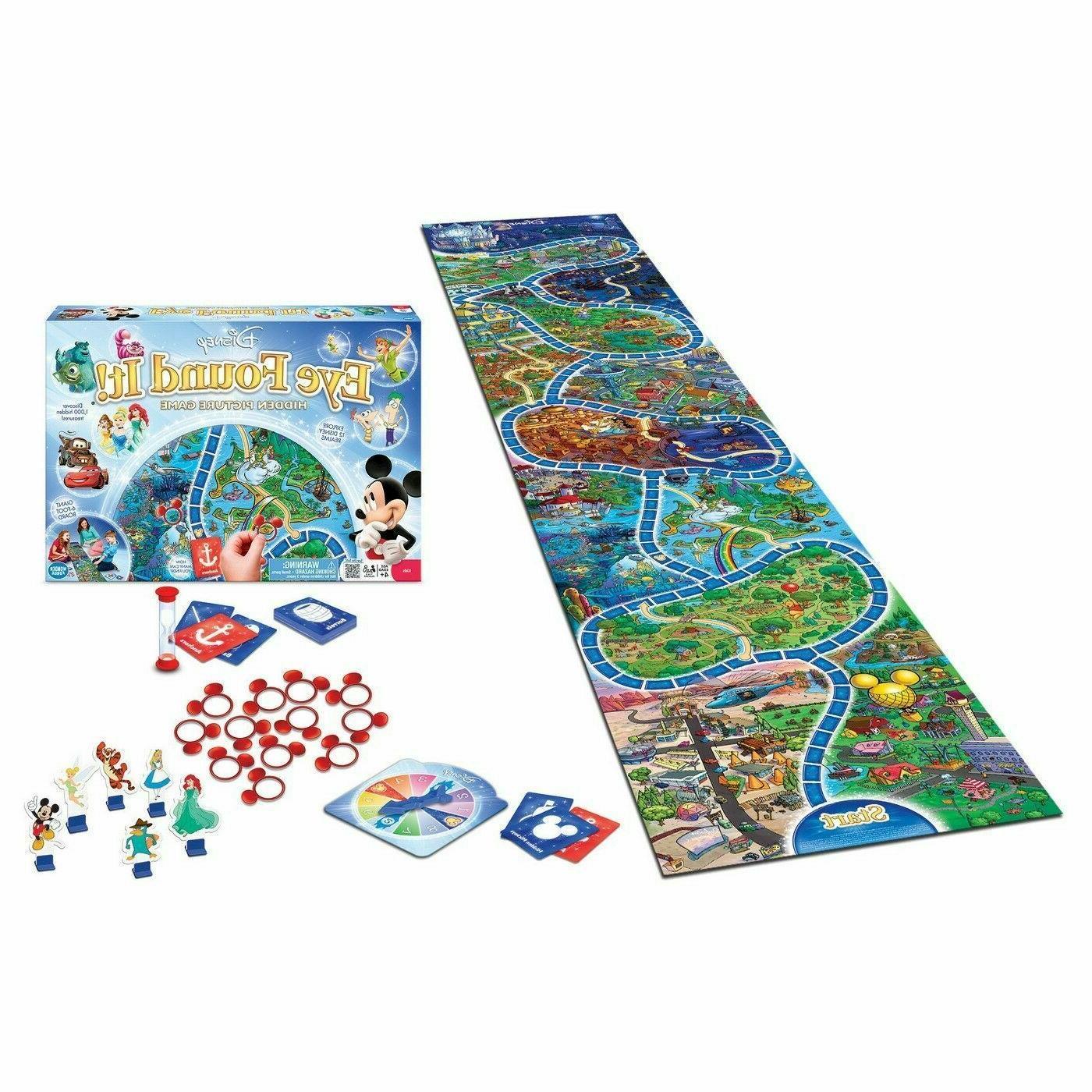 World Of Eye Found It Board Game NIB