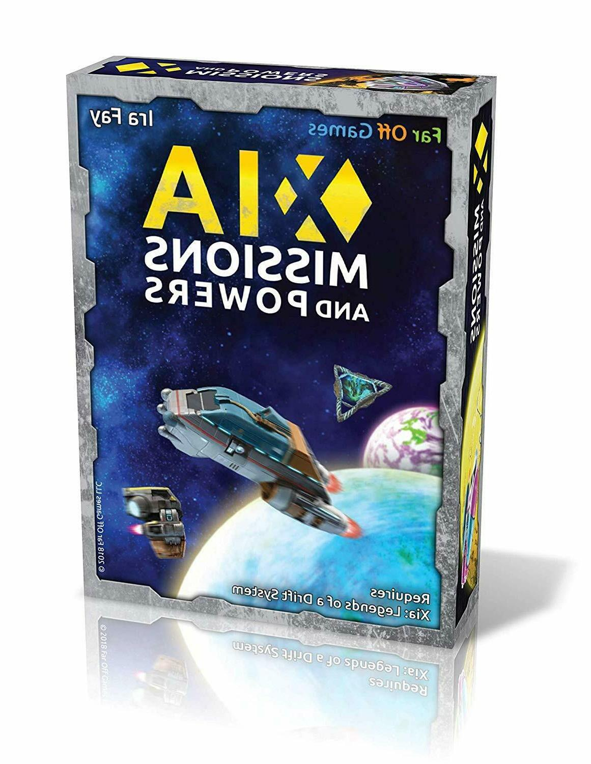 xia mission and powers board game expansion