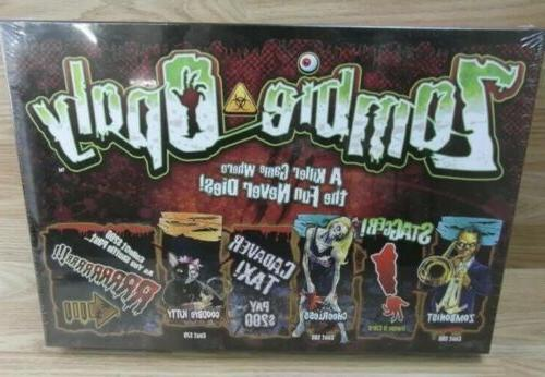 zombie opoly board game a killer game