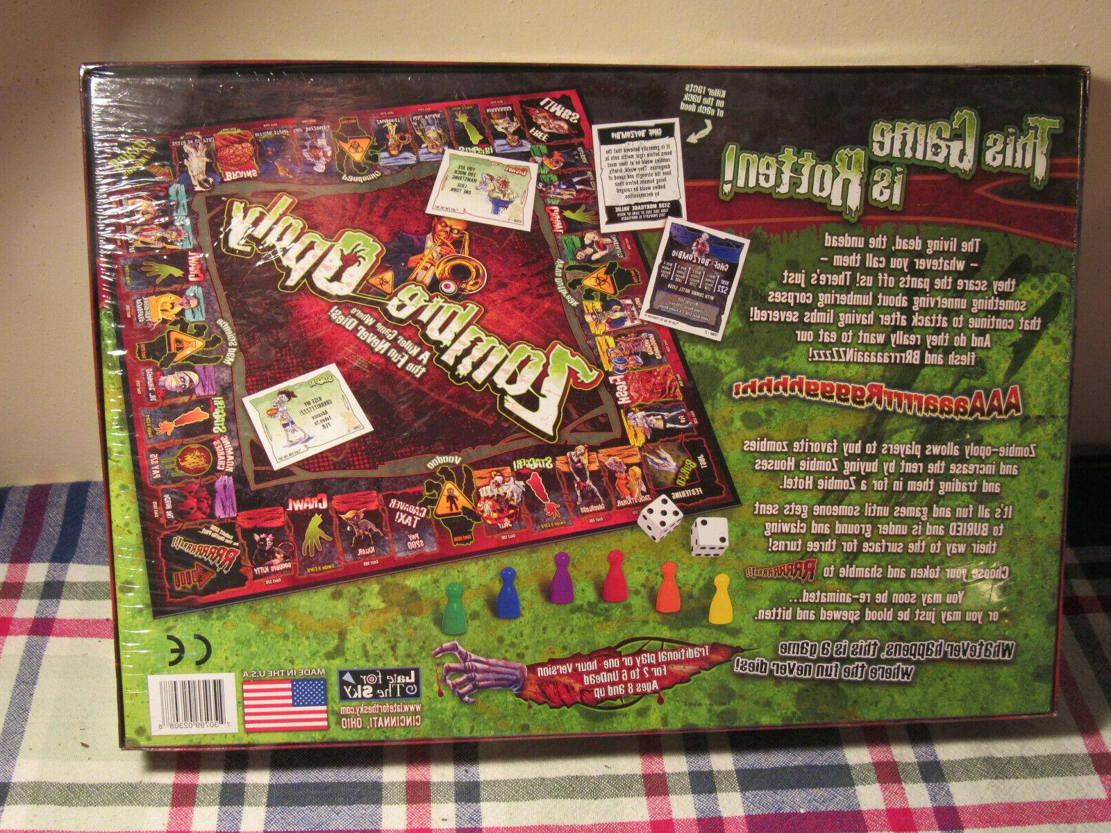Zombie-Opoly Monopoly Living Dead Undead Game
