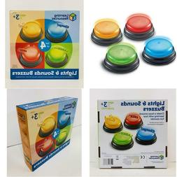 LIGHTS SOUNDS BUZZERS GAME SHOW CLASSROOM BUZZERS