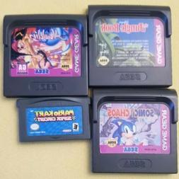 Lot of 3 Sega Game Gear + Game Boy Advance Mario Kart Chaos
