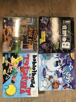 Lot Of 4 New Childrens Kids Games Board Games Chrono Bomb Ye