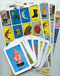 Loteria Original Don Clemente 10 playing boards 54 cards Mex
