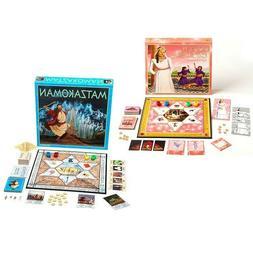 MATZAKOMAN & QUEEN ESTER Board Games - Jewish Themed Bundle