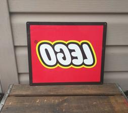 "Lego Metal Sign Toy Advertising Game Room Mancave 10x12"" 501"
