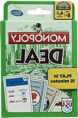 Monopoly Deal Classic Green Package Card Game Parker Brother