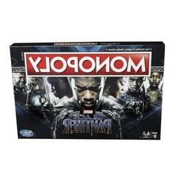 Monopoly Game: Black Panther Marvel Edition Board Game Hasbr